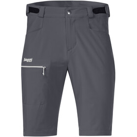 Bergans M's Slingsby LT Softshell Shorts Solid Dark Grey/Sprout Green